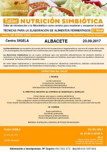 ALBACETE - TALLER DE NUTRICIÓN SIMBIÓTICA @ Centro Sigela | Albacete | Castilla-La Mancha | España