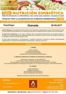 GRANADA - TALLER DE NUTRICIÓN SIMBIÓTICA @ Famyhogar | Granada | Andalucía | España