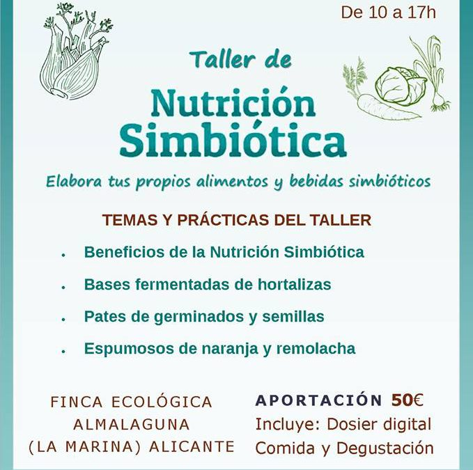 Taller, Nivel 1. NUTRICIÓN SIMBIÓTICA [ALICANTE]